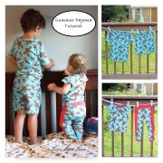 sewalittleseam.com, Kids Summer Pajama Sewing Tutorial