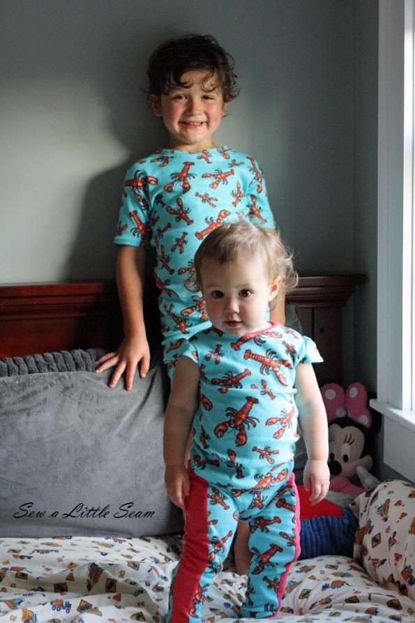 sewalittleseam.com, Kids Summer Pajama Sewing Tutorial