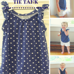 Tutorial: Polka Dot Tie Tank