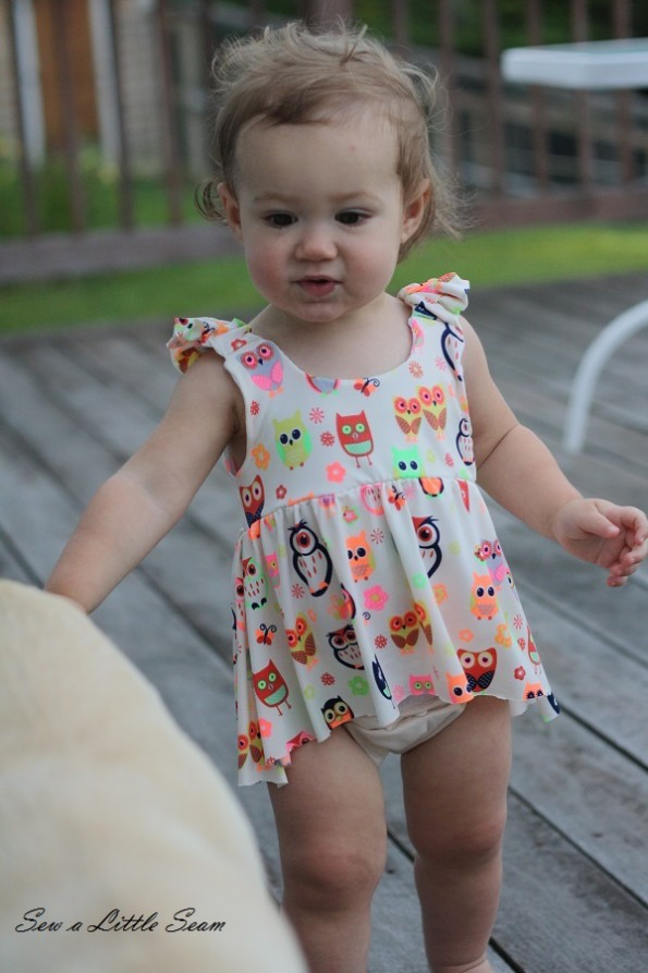 sewalittleseam.com, Toddler Owl Tankini