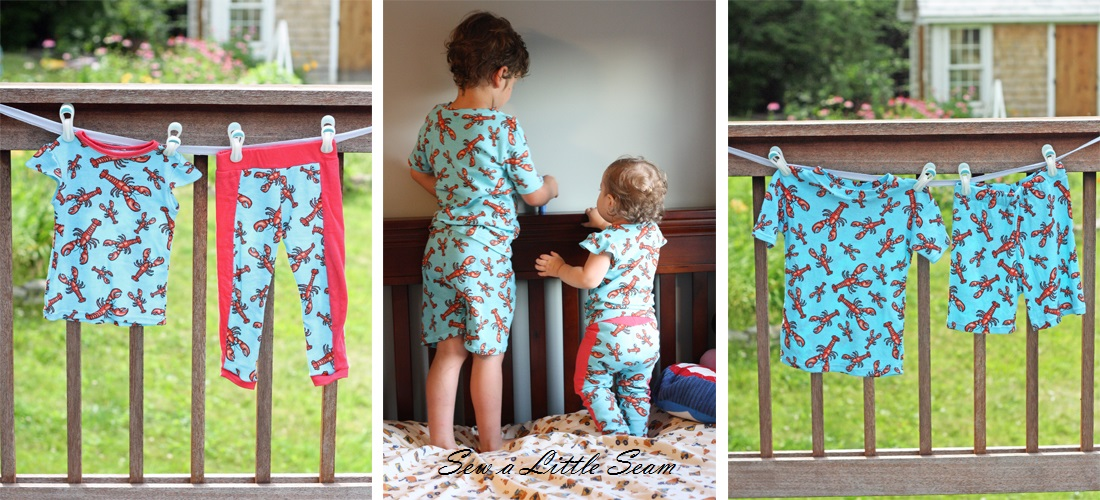 pajamas, sew, sewing for kids, kid's pajamas, sewing tutorial, pajama tutorial, homemade pajamas, how to sew pajamas