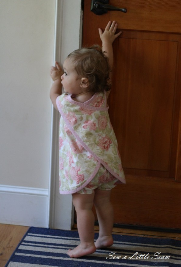 Toddler Cross Back Pinafore Dress