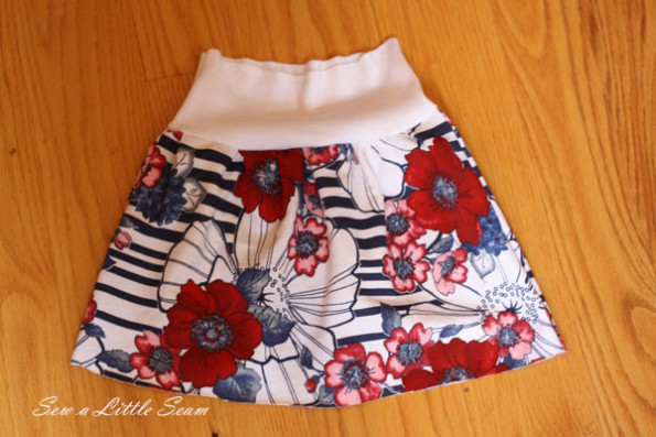 French Terry Skirt Tutorial