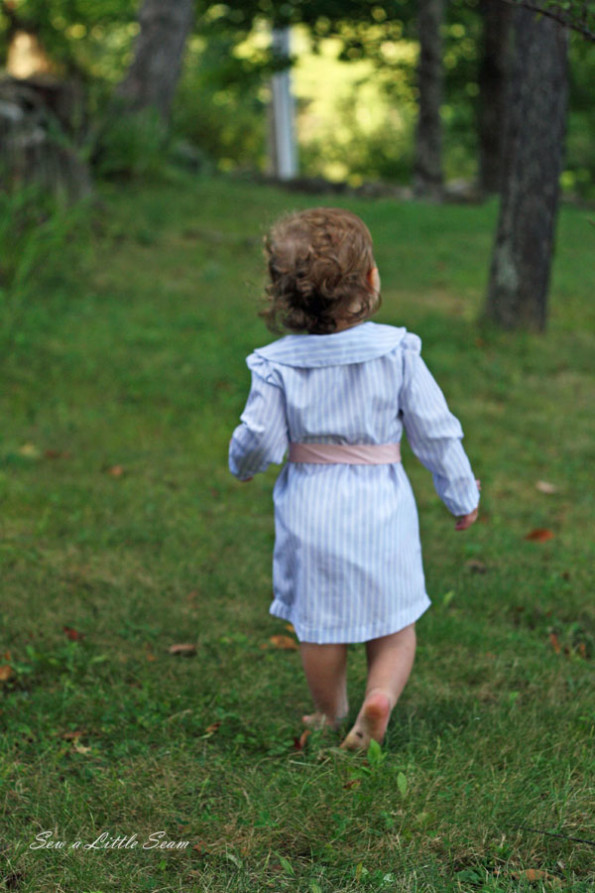 Button Up Toddler Dress