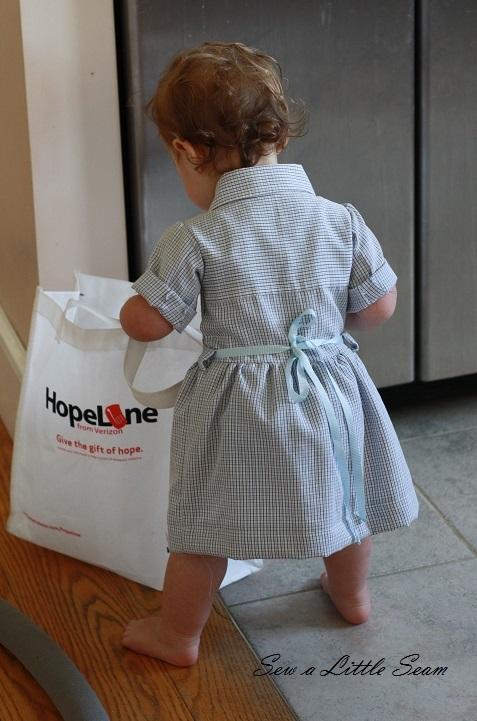 Upcycled Shirt Dress