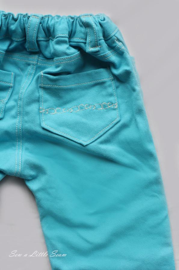 Ariel Detail Pants Back