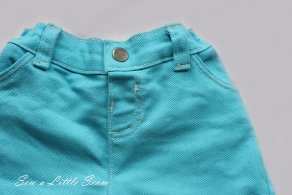 Ariel Detail Pants Front