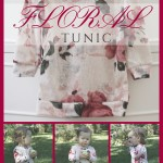 Cool Weather Series: Floral Tunic
