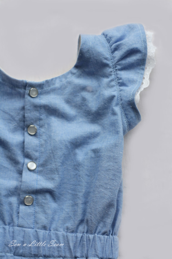 Belle Detail Romper Sleeve