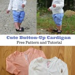 Cool Weather Series: Button-Up Cardigan