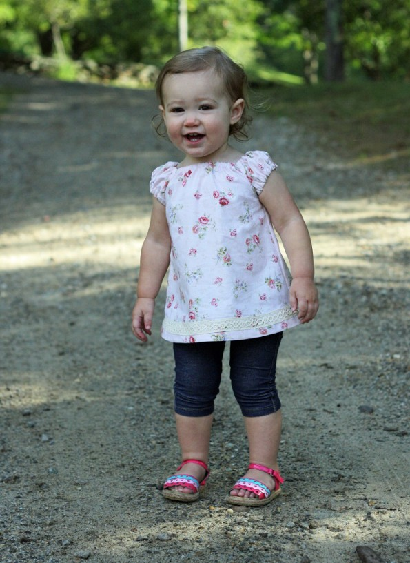 The Olivia Top from Mummykins and Me