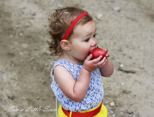 Snow White Romper