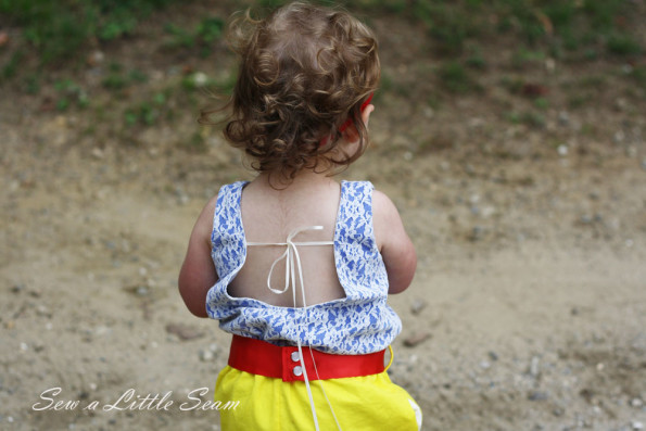 Snow White Romper