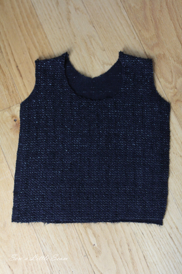 Tie-Back Sweater Tutorial