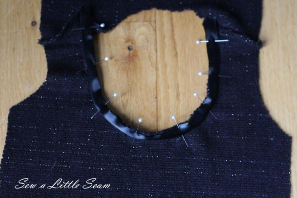 Tie-Back Sweater Tutorial