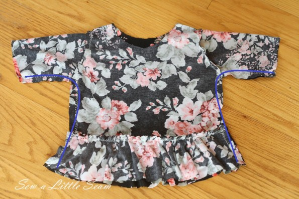 Peplum tutorial and pattern