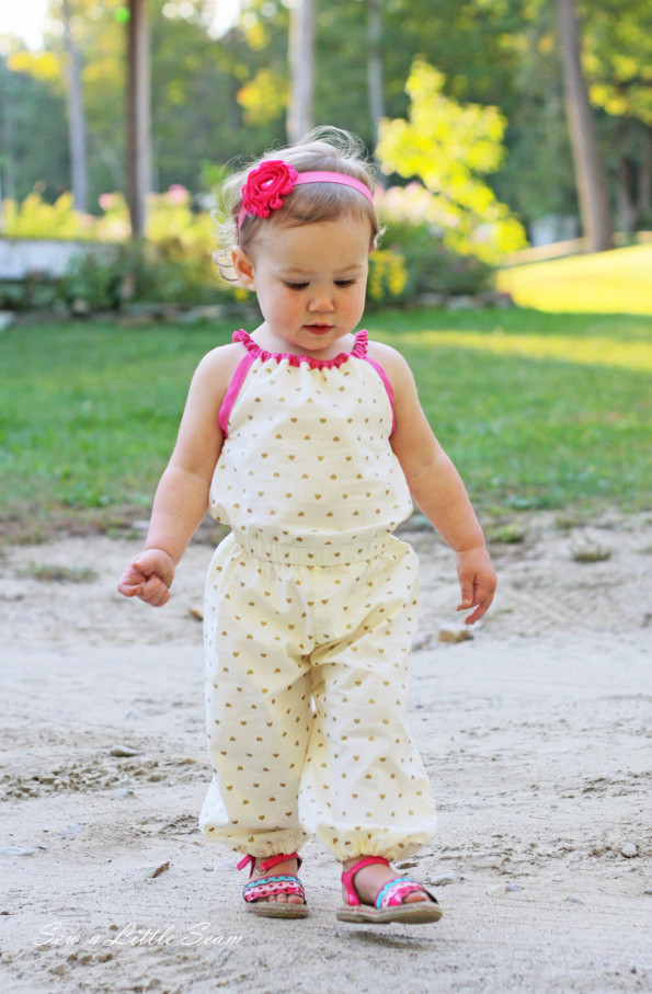Teatime Romper Sewing Pattern
