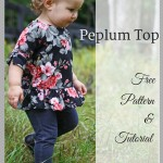 Cool Weather Series: Peplum Top