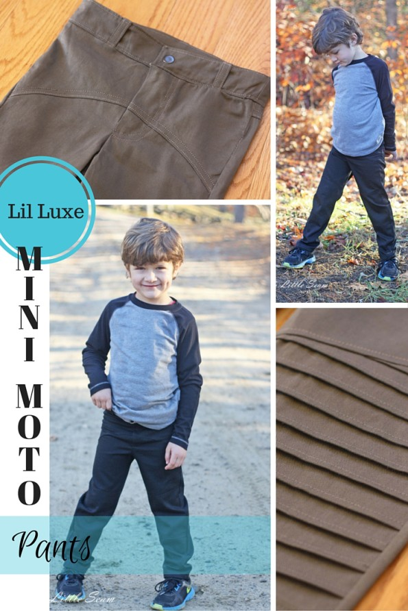 Lil Luxe Mini Moto Pants