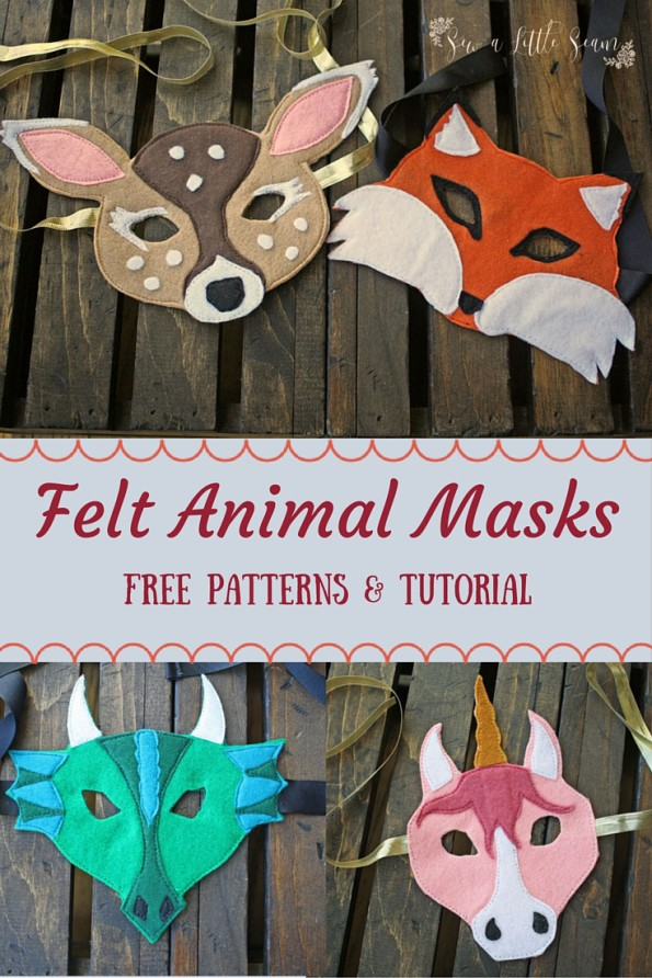 Felt Animal Masks