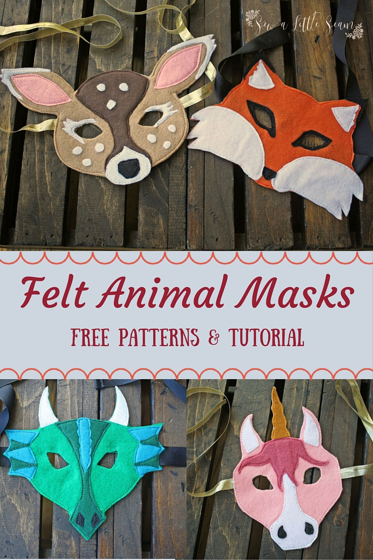 Fun Felt Animal Masks