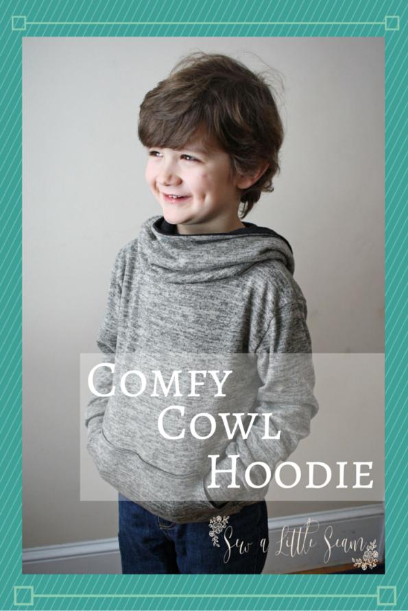 Comfy Cowl Hoodie from Mummykins & Me