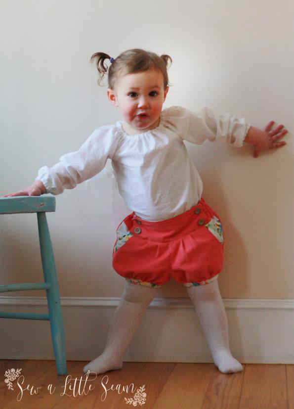 Bubble Shorts from Mummykins & Me
