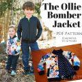 Ollie Bomber Jacket PDF Pattern