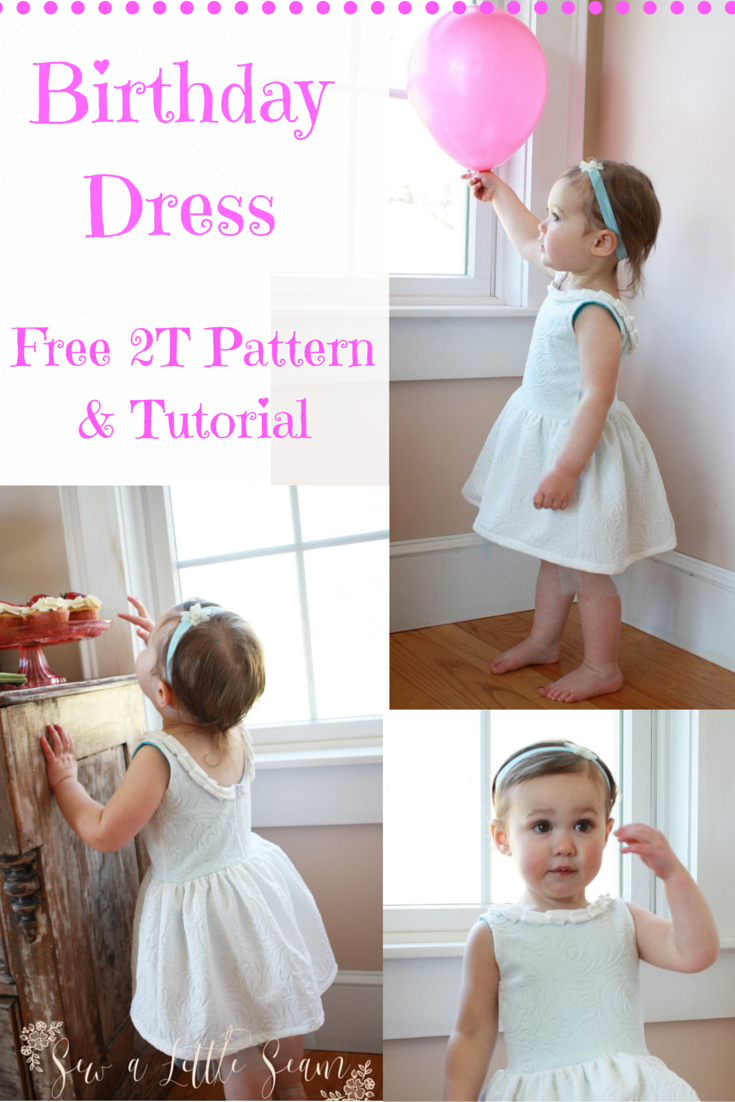 Turning Two – Free Birthday Dress Pattern