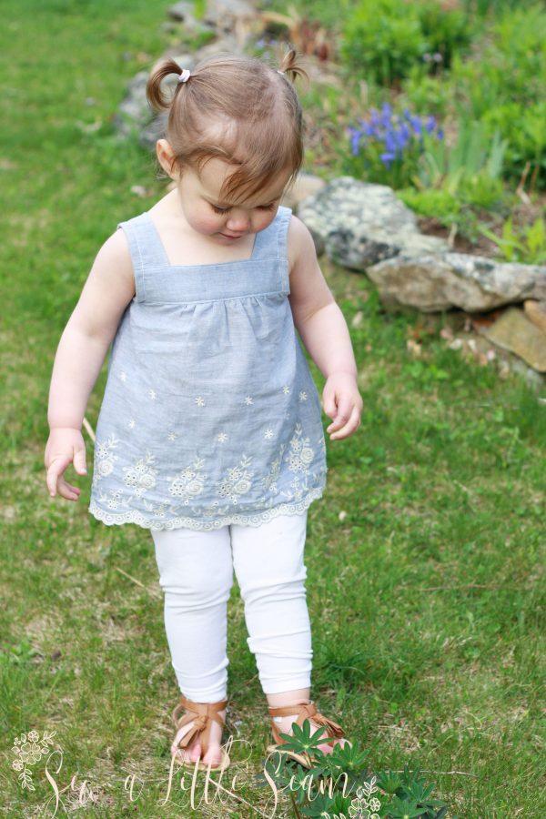 Hadley Top, Tunic & Dress Pattern
