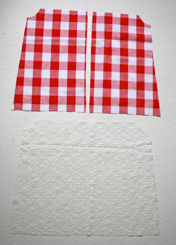 Hadley Pattern Tie Straps