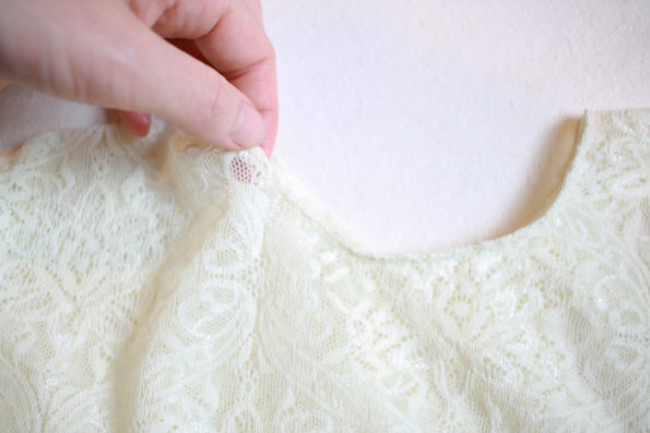 Lace Poncho Tutorial