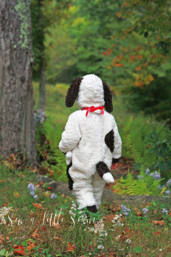 Free Puppy Costume Sewing Pattern
