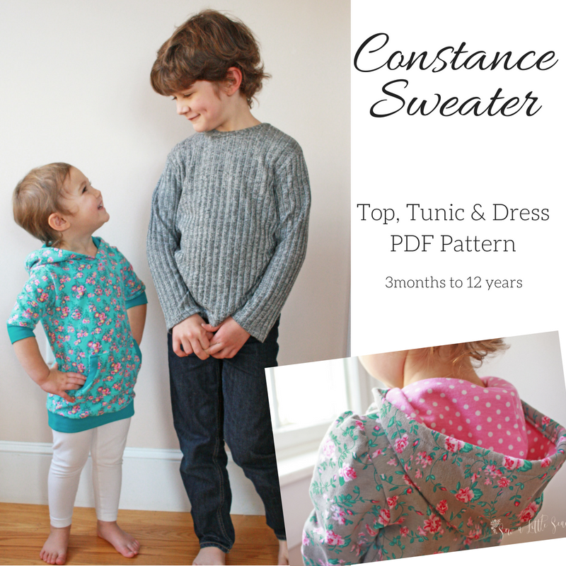 Constance Sweater PDF Pattern