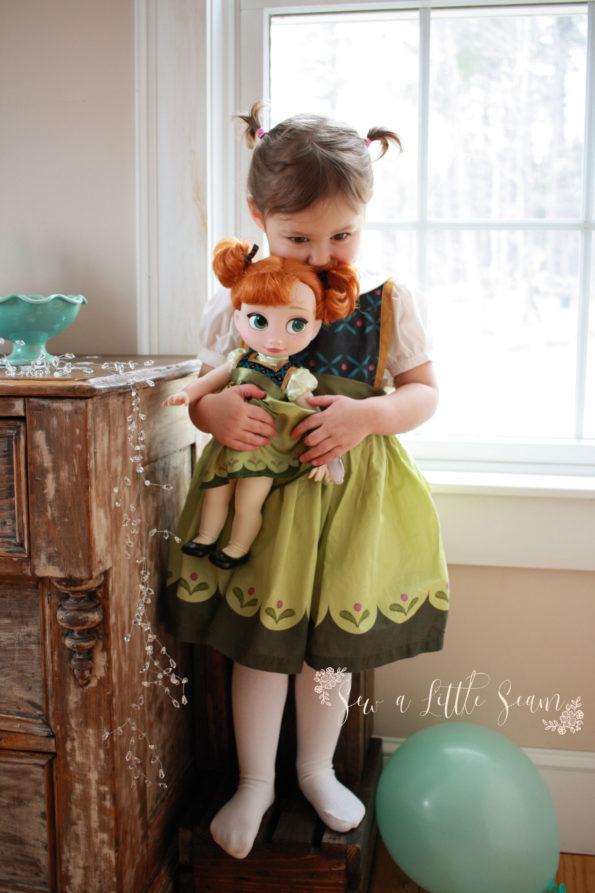 Free Anna Dress Pattern