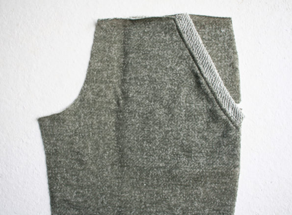 Linden Shorts Pattern in French Terry