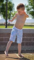 Linden Board Shorts with Cargo Pockets