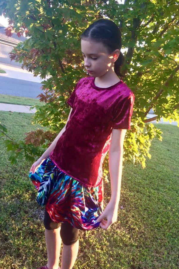ABV Size 10 drop waist dress