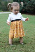 CDC 9-12 high waist dress long sleeve