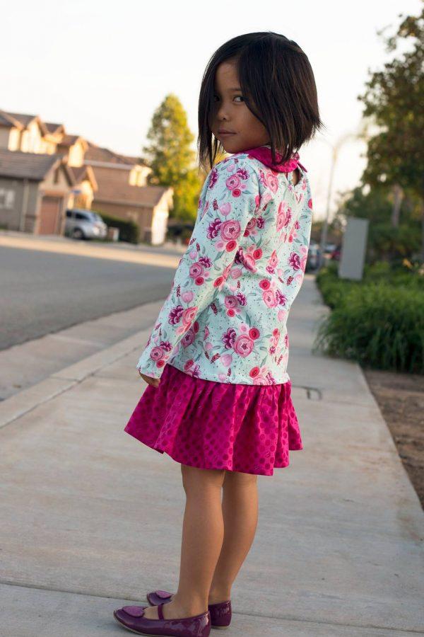 MN Size 5 drop waist dress