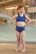 AM Bikini halter high waist bottoms