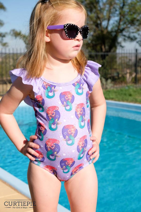 KC Size 5 One piece scoop back with ruffle