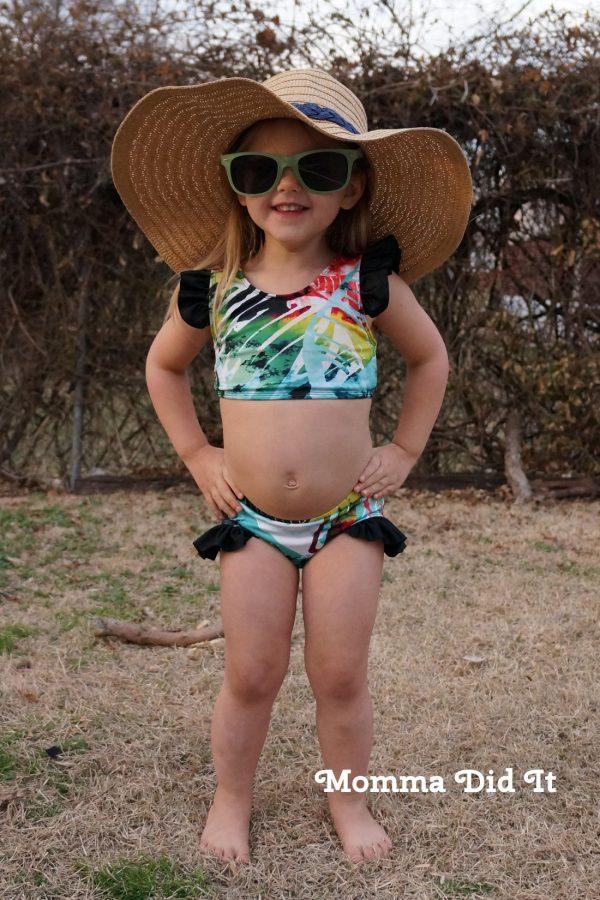 WJ Size 3 V back bikini