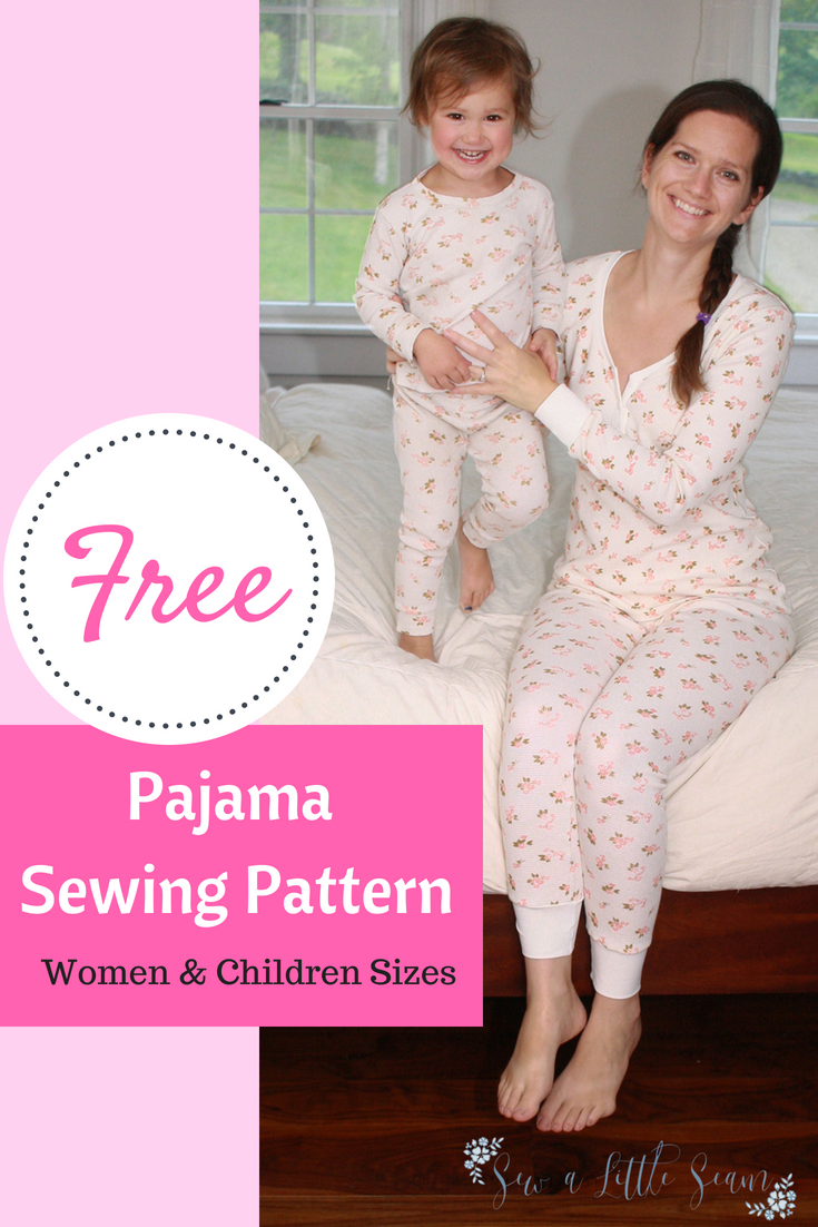 Free Movie Night Pajamas Sew A Little Seam