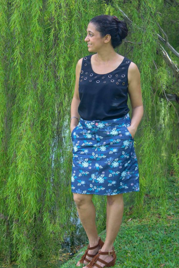 KG skirt long 2