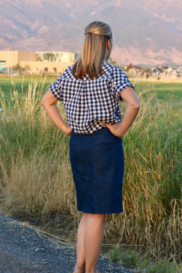KG skirt long chino