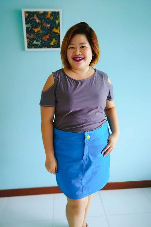 KK Jean style skirt