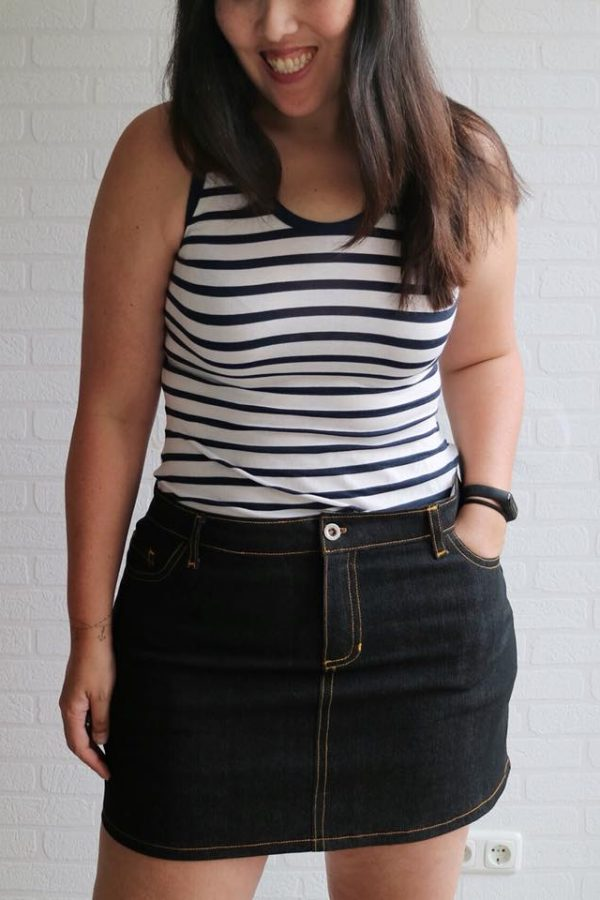 LJY skirt jean style