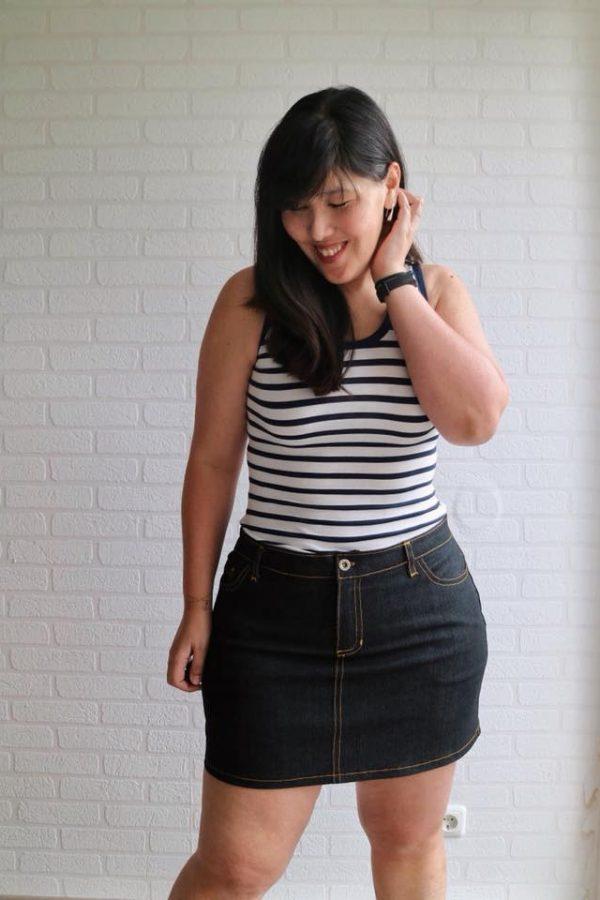 LJY skirt short length