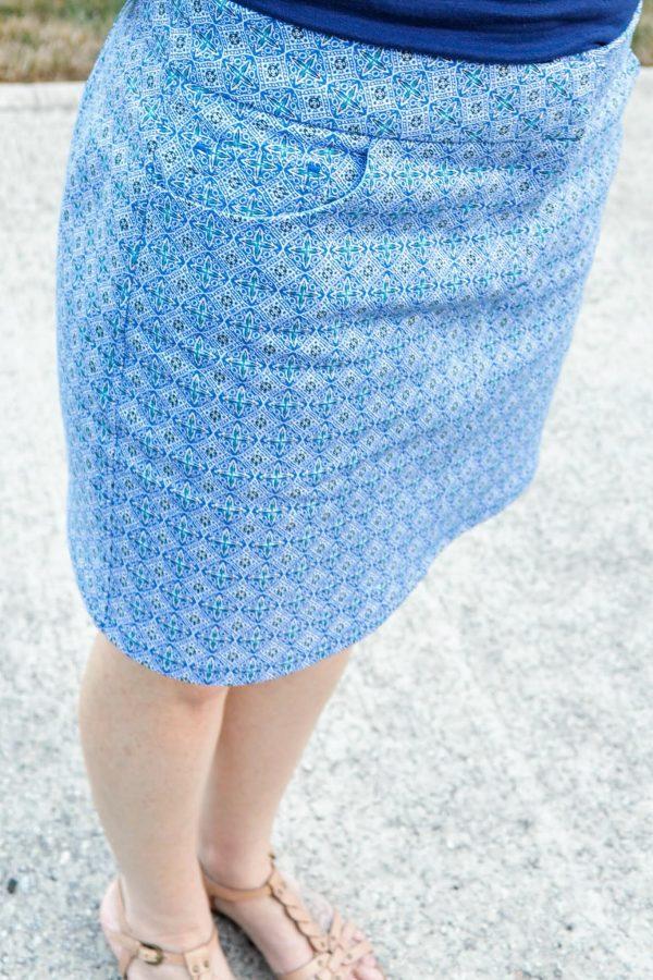 MKC Mid length skirt